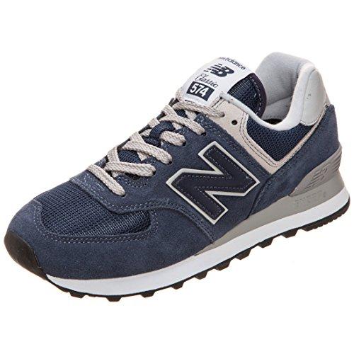 New Balance Damen 574v2 Core Sneaker, Blau (Navy), 43.5 EU