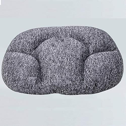 Greypillow - Almohada de espuma viscoelástica con forma de huevo para bebé, ortopédica para dormir, almohada cervical
