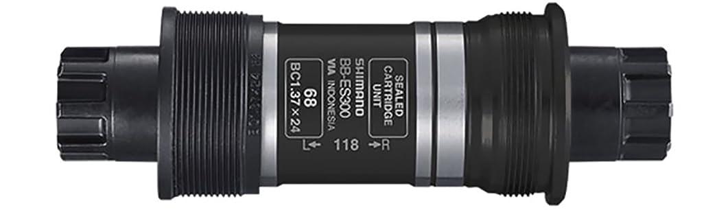 従来の社説飾り羽SHIMANO(シマノ) BB-ES300-K 68mm(BC1.37) チェーンケース対応 BB-ES300 EBBES300KB21