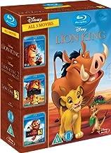 The Lion King 1-3 Region Free