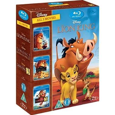 The Lion King Trilogy - Triple Pack [Blu-ray][Region Free]