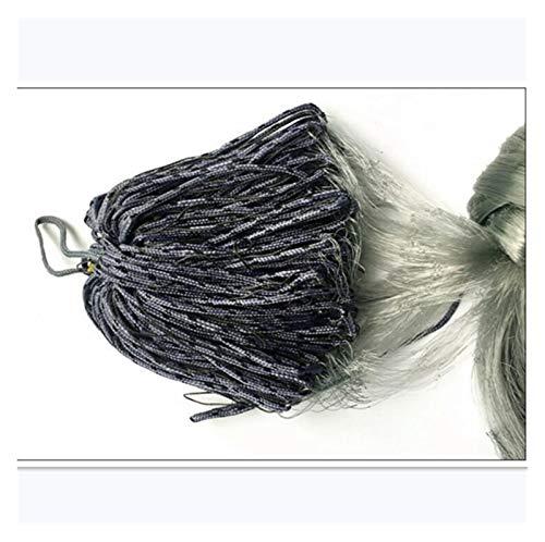 XIAOFANG Finnland Fishing Net Monofilament Gillnet Einzelschicht Fischernetze Größe 1.8 * 30m Fang Angelnetz Network Haftnetz (Color : Mesh 50x50mm)