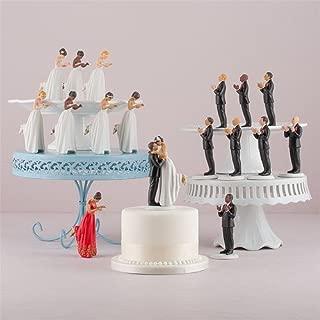 Weddingstar True Romance Hispanic Bride Cake Topper, Red