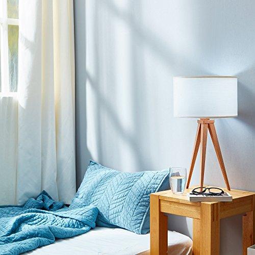 Romanza VN-L00008-EU tafellamp, statief voor kantoor, nachtkastje, lampenkap, wit