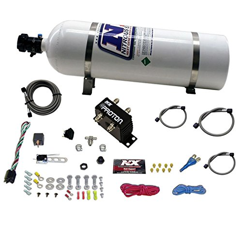 Nitrous Express 20421-15 Proton Plus Nitrous System with 15 lbs. Bottle