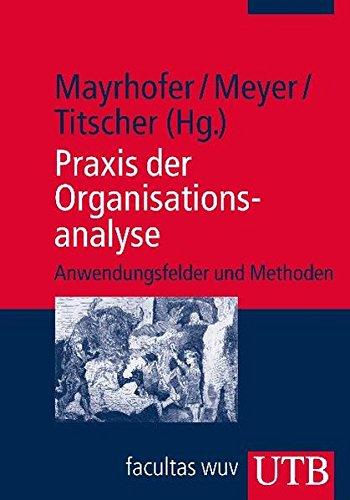 Praxis der Organisationsanalyse: Anwendungsfelder und Methoden