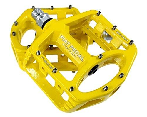Eveter Magnesium Ultra-Light MTB Rennrad Abgedichtetes Lager Fahrrad Pedale 5051 (Gelb)