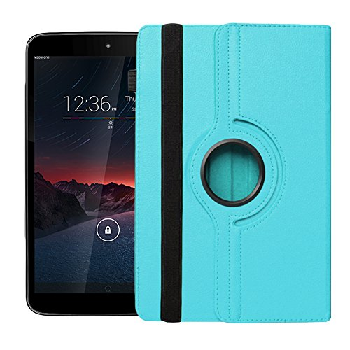 UC-Express Tasche für Vodafone Smart Tab 4G Hülle Cover Schutzhülle Hülle Tablet 360°, Farben:Türkis