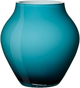 Villeroy & Boch Oronda Mini Vase Caribbean Sea, 12 cm, Verre, Bleu