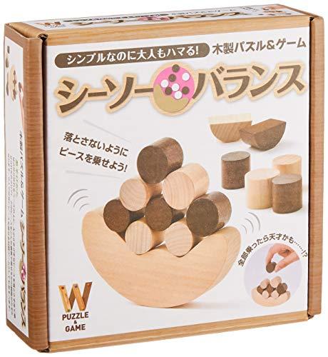 木製パズル&ゲーム シーソーバランス