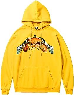 Fanteecy Sweatshirt Couple's Scary Halloween Printed Party Long Sleeve Hoodies Top Sweatshirt Cospaly Costumes