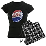 CafePress Pepsi Bottle Cap Pajamas Womens Novelty Cotton Pajama Set, Comfortable PJ Sleepwear
