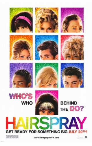 Pop Culture Graphics Hairspray 11x17 Movie Poster (2007)