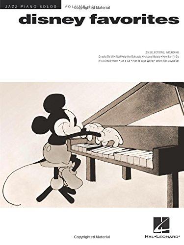 Disney Favorites: Jazz Piano Solos Series Volume 51: Noten, Sammelband für Klavier
