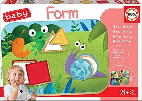 Educa - Baby Form, Juego educativo para bebés, aprende las