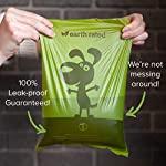 Earth Rated Dog Poo Bags - 270 Extra Thick Poop Bags For Dogs | Each Lavender Scented Doggy Waste Bag Measures 22x33cm | 100% Leak-Proof Security 10