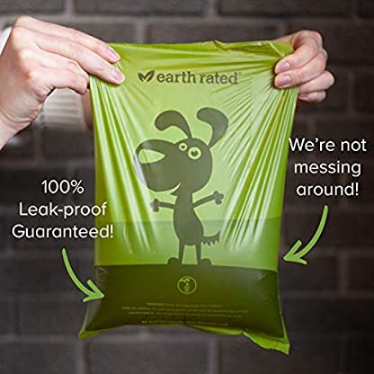Earth Rated Dog Poo Bags - 270 Extra Thick Poop Bags For Dogs | Each Lavender Scented Doggy Waste Bag Measures 22x33cm | 100% Leak-Proof Security 4