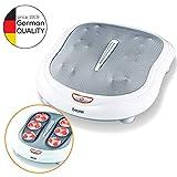 Beurer FM60 - Masajeador, 50 W, función calor, color blanco y gris