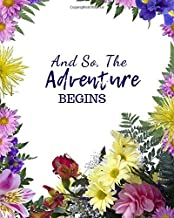 And So The Adventure Begins: Perfect activity book to write draw and create your own stories (kids Creativity Book)