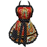 Hemet Guadalupe Virgin Mary Mexican Apron