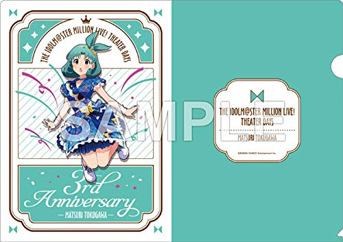 アイドルマスター ミリオンライブ! A4クリアファイル 徳川まつり インフィニット・スカイver.