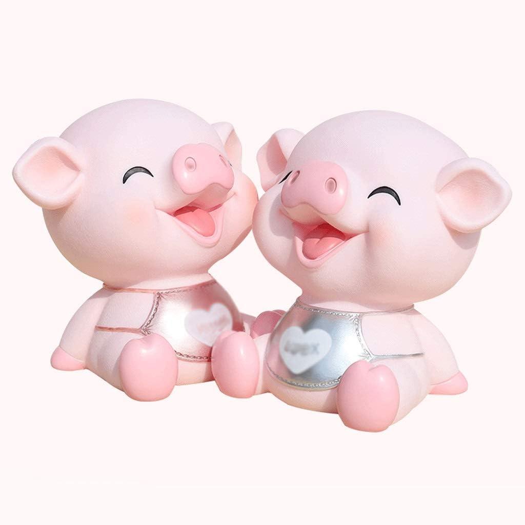 NYKK Money Mail order cheap Banks Piggy Under blast sales Bank Capaci Creative Pig Large