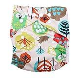 Calico Swim Diaper Baby Infant Snap Absorbente Lavable Swimsuit Pañal Reutilizable Swim Pañal Para Bebés Niños Lecciones De Natación, Talla Única Todos(#8)