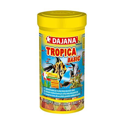 PCmoviles Dajana Tropica Basic Nourriture pour poissons 50 g 250 ml