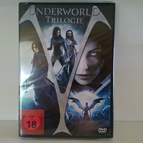 Underworld Trilogie (Underworld / Underworld Evolution / Underworld - Aufstand der Lykaner) [3 DVDs]