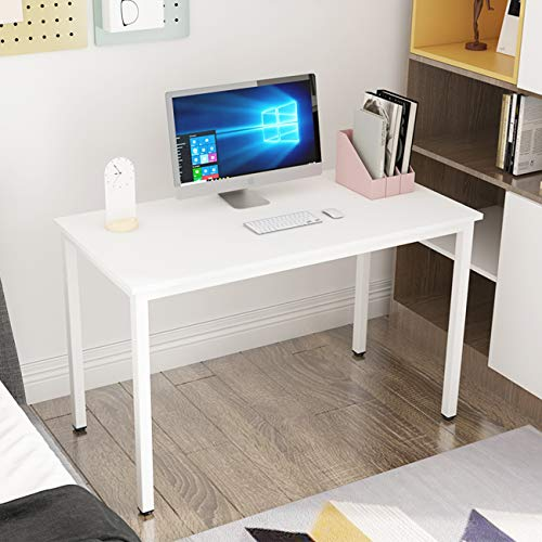 soges Escritorios 120x60cm Mesa de Ordenador Escritorio de Oficina Mesa de Estudio Puesto de Trabajo Mesa de Despacho,