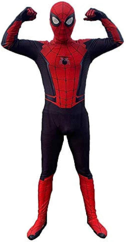 Nuovo Costume Bambino Adulto Spidition Spideruomo Cosplay Htuttioween autonevale Festa di Compleanno Fancy Dress classeico Speex Lycra Spideruomo Suit  ld-XL@Adulto_XX-gree,Costume di Spider-uomo