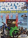 Motorcyclist, October 2008 [single issue magazine] ($miles per Gallon, 2009 Harley-Davidson V-Rod Muscle, Training wheels, Burned under)