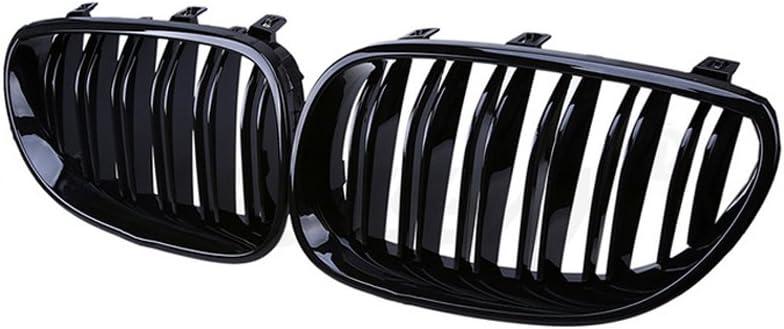 Ricoy For 2003-2010 Sedan E60 E61 Front Tw Gloss M5 Kidney Max Max 85% OFF 83% OFF Black