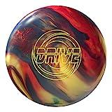 Storm Drive Bowling Ball, Gold/Navy/Red Hybrid, 15lbs