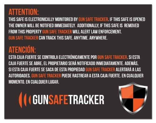 tracker gun safe - 3