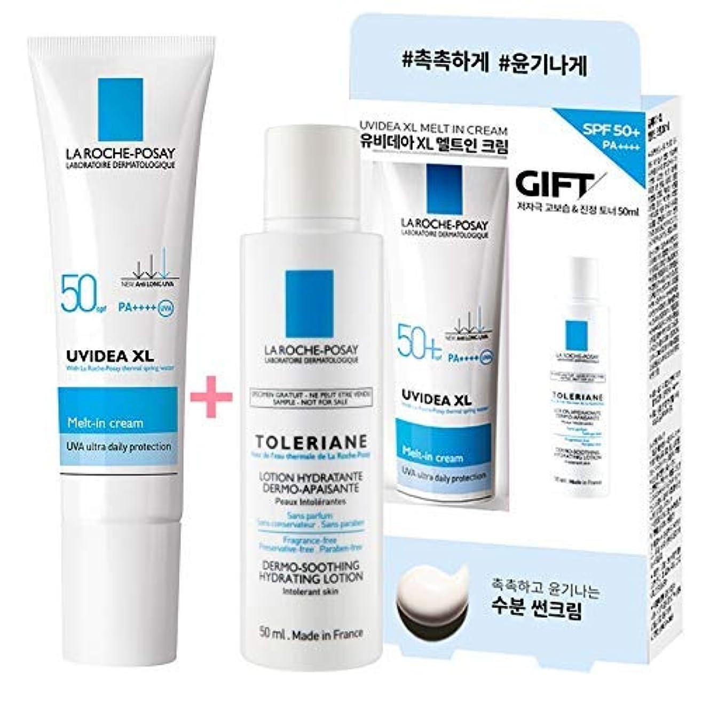 オリエントミント卑しいLa Roche-Posay ラロッシュポゼ UVイデア XL Melt-In クリーム Uvidea XL Melt-In Cream - Natural (30ml) SPF50+ PA++++ (ギフト: LOTION 50mL) LaRochePosay