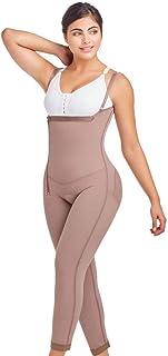 DPanda 022 Liposuction Compression Garments Post Surgery Girdle Full Body Shaper - Cocoa-Optic - 3XL