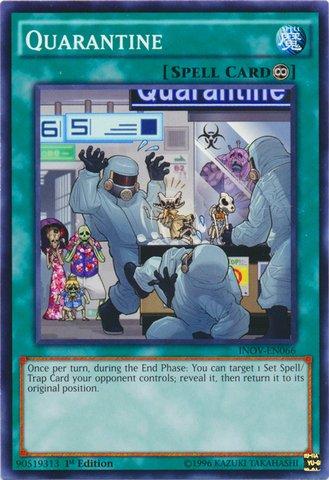 Yu-Gi-Oh! - Quarantine (INOV-EN066) - Invasion: Vengeance - 1st Edition - Common