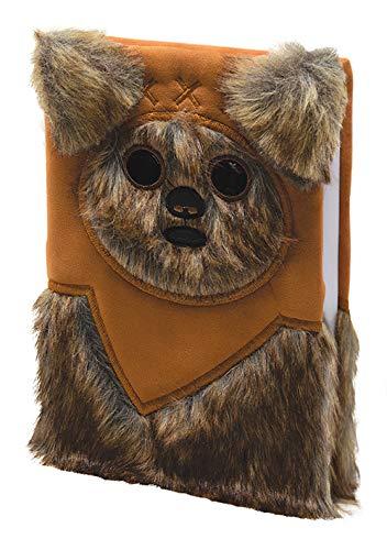 Star Wars - Cuaderno de notas A5 Premium de piel sintética – Ewok