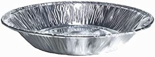 Aluminum Foil Disposable Baking Plates – 6 inch Pie Pans - Perfect for Smaller Pies Tarts Quiche - Made in USA (Pack of 50)