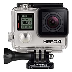 Professional 4k30, 2.7k60 and 1080P120 video, 720P240 video for super slow motion playback and 12MP photos at up to 30 frames per second Built in wi fi and bluetooth support the GoPro app, smart remote and more Improved camera control and built in vi...