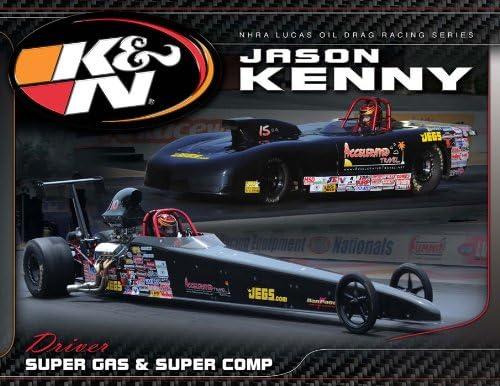 KN Cheap mail order sales Engineering 89-11642 Hero Card; Jason 8-1 2 X Max 44% OFF 11 Kenny