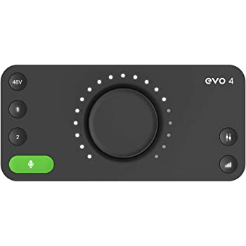 audient 「EVO4」2in/2out オーディオ・インターフェース[国内正規品]