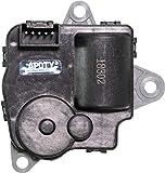 APDTY 715296 Main Air Door Actuator Compatable With 2010-2013 Chevy Equinox / 2010-2013 GMC Terrain Will Work For The Air Inlet Door,Mode Door,and the Temperature DoorReplaces OEM Part Number 25952814