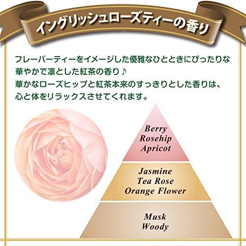 『ファーファ 濃縮柔軟剤 イギリス イングリッシュローズティー(紅茶)の香り 本体 600ml』の5枚目の画像