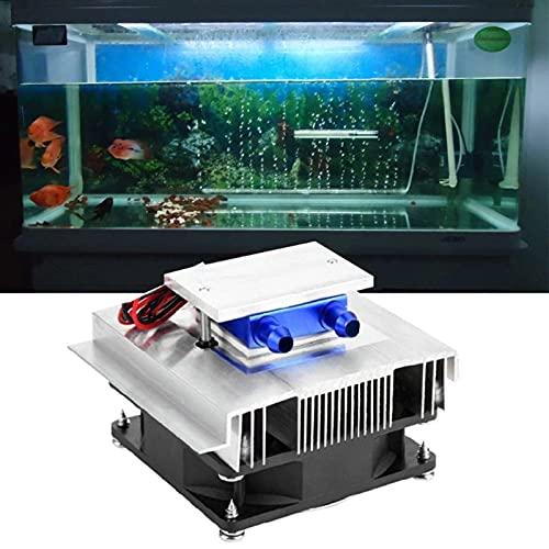 TWY Kit de Sistema de refrigeración de Bricolaje, Semiconductor Peltier termoeléctrico, Sistema de refrigeración, Mini Aire Acondicionado, Sistema de refrigeración
