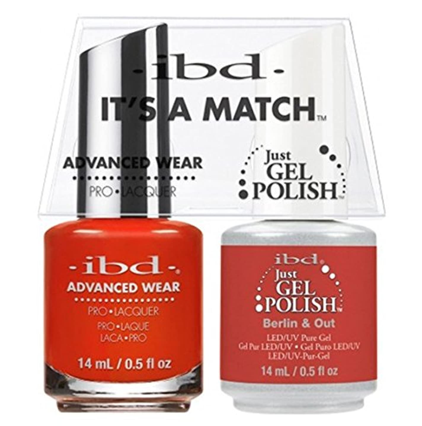 鰐絶滅無一文ibd - It's A Match -Duo Pack- Destination Collection - Berlin & Out - 14 mL / 0.5 oz Each