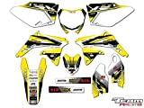 Team Racing Graphics kit compatible with Suzuki 2008-2017 RMZ 450, ANALOG Complete Kit
