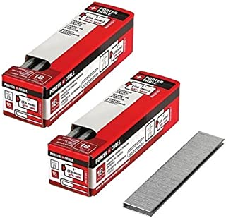 PORTER-CABLE PNS18100-1 1-Inch 18 Gauge Narrow Crown Staple (2 Pack)