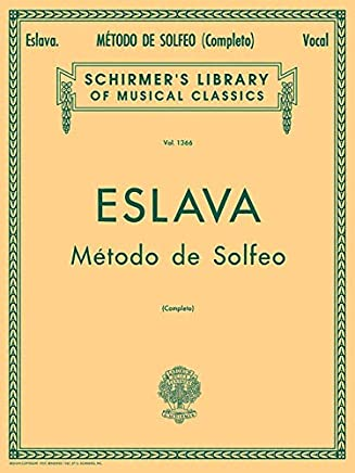 Metodo de Solfeo - Complete: Schirmer Library of Classics Volume 1366 Voice Technique